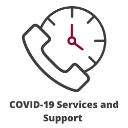 COVID-19 Services and Support