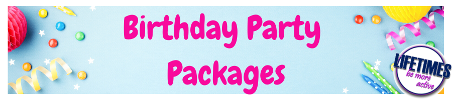 Bithday Parties at our Leisure Centres
