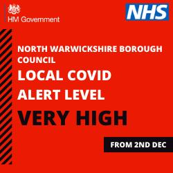 Local covid alert level: Tier Three Very High