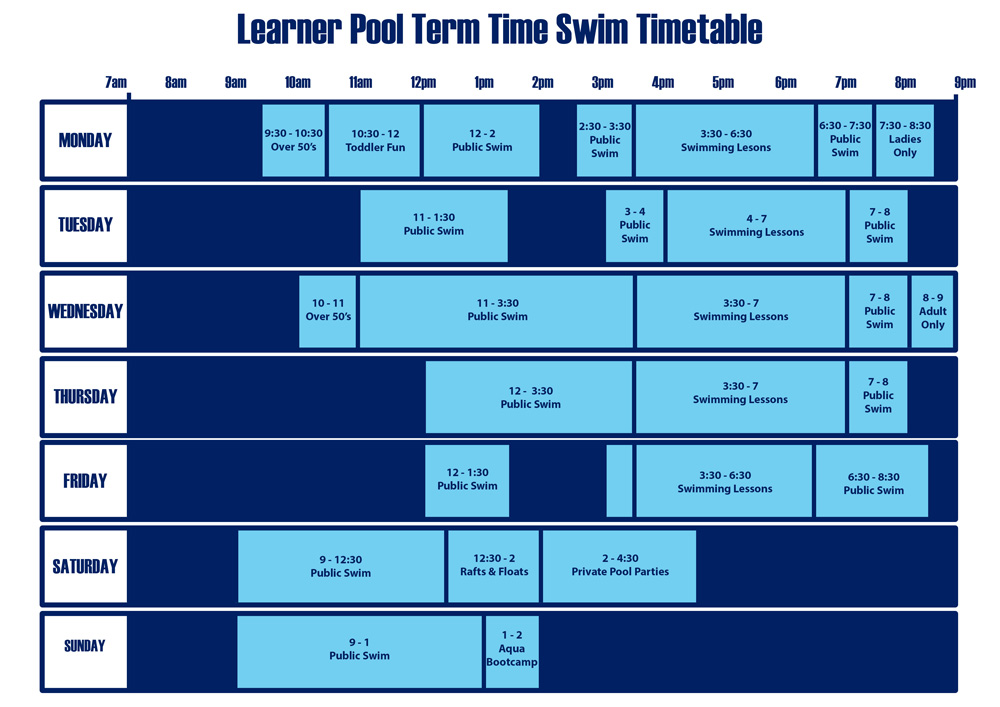Learner pool term time