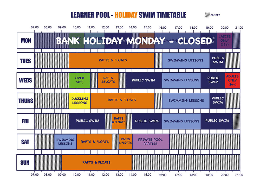 learner pool holiday bh