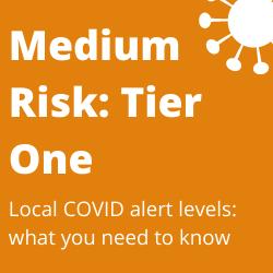 Local Alert Level - Tier One - Medium Risk