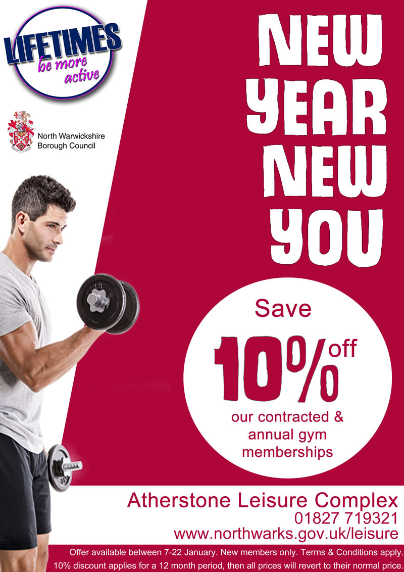 New year new you poster alc