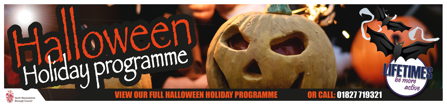 Halloween Leisure Centre Holiday Activities