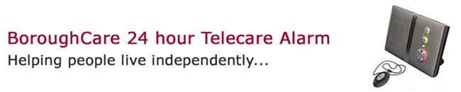Borough care telecare alarm service