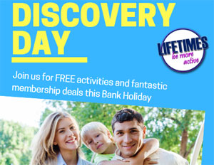 Discovery day at all of our leisure centres