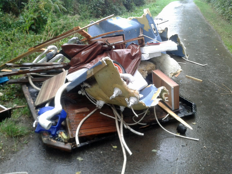 Flytipping in Arley