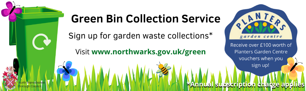 Sign up for garden waste collections here