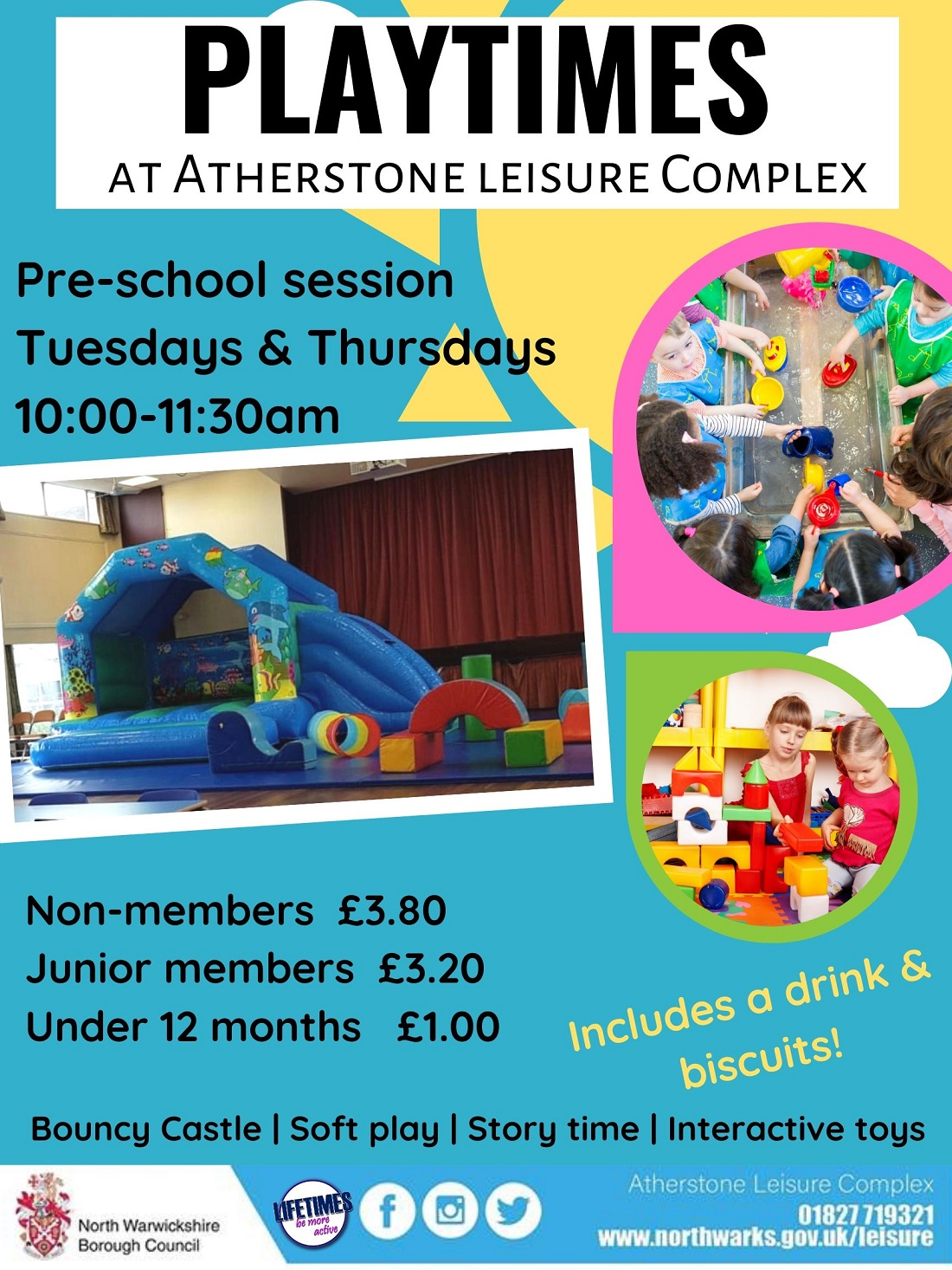 Playtimes at Atherstone
