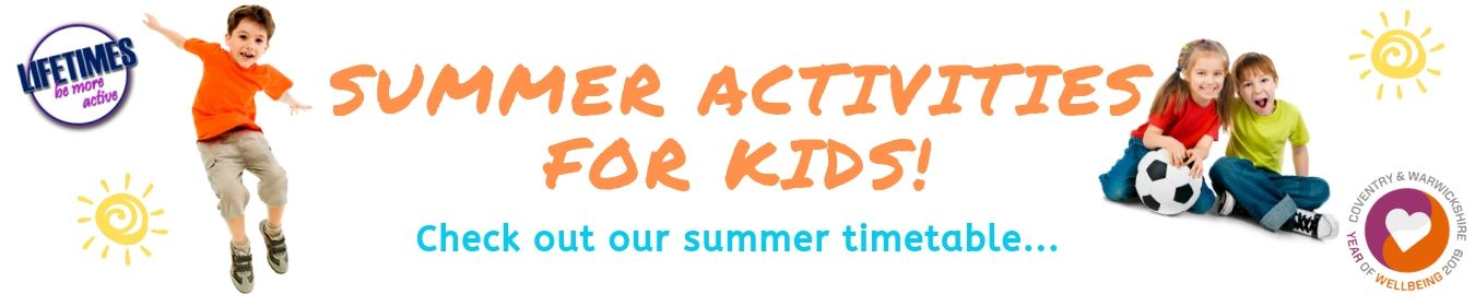 Summer Activities at our Leisure Centre