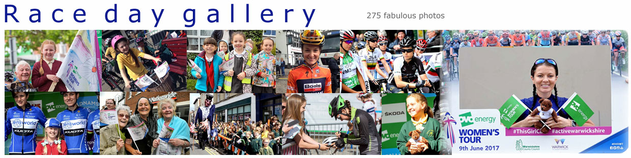 Race day gallery banner